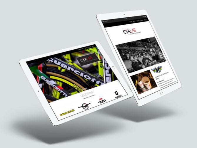 CyklabWeb iPad